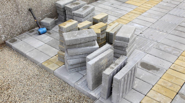 brick driveway plymouth